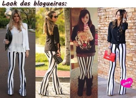 Look das blogueiras