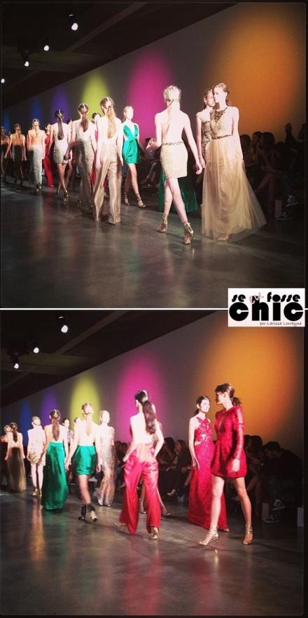 As modelos usaram calçados Luiza Barcelos. Restam dúvidas de que o desfile foi um verdadeiro show?