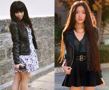 Jacket+skirt-vestido