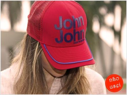 Boné john john