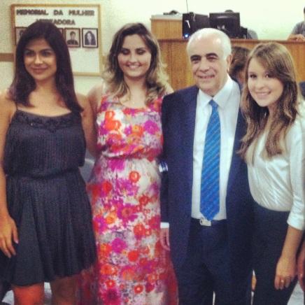 Aconteceu o primeiro evento do meu novo trabalho e foi com o Senador do Estado de São Paulo.