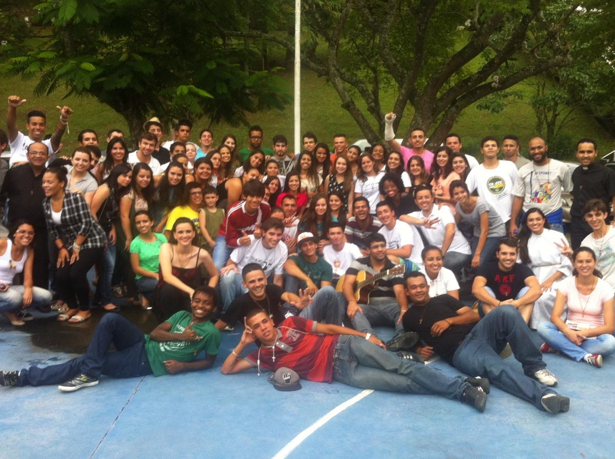 Participei do Maranathá, um retiro promovido pelo Jovens Sarados, na chácara da Canção Nova em Lavrinhas